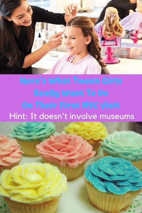 Need a bucket list for things to do with older kids and tweens in nyc? Go light on culture and heavy on fun (and cupcakes). Here are 5 great things to do with not-quite=teens in nyc. #nyc #kids #tweens #thingstodo #vacation #family #nycbucketlist