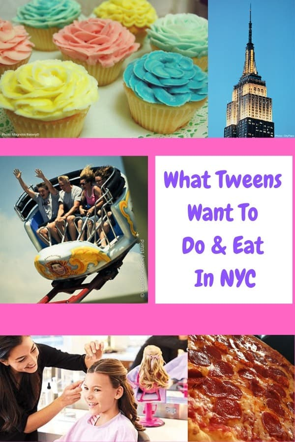 Looking for inspiration for a trip to nyc with tweens. Here are 5 things older kids love to do in nyc, and few activities likely to bore them to tears. Let the nyc family vacation begin! #nyc #kids #tweens #ideas #thingstodo #travel #family