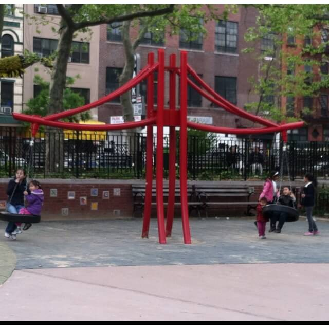 hester street playground in chinatown