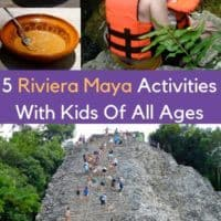 The riviera maya has plent of things to do beyong all-inclusive resorts. Book a tour or travel on your own to see maya ruins, natural pools, eco parks and more with your kids. #vacation #mexico #mayanrivera #cancun #yucatan #thingstodo #kids #teens