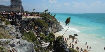 Tulum ruins and their beach