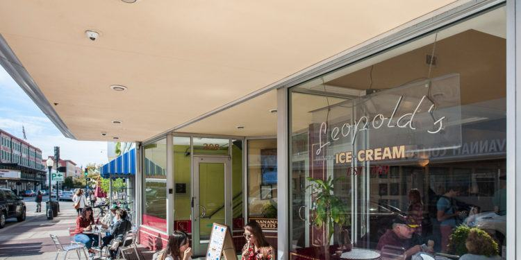 Leopold's is a century-old soda fountain and ice cream shop in the middle of Savannah