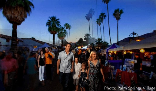 The weekly palm springs village fest
