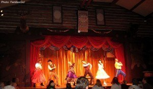 the Hoop de Doo Review at Disney World
