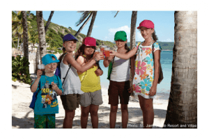 St. James is one of a few beach resorts with toddler activities.