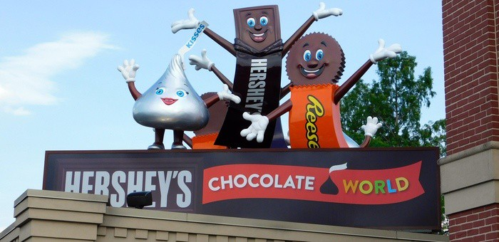 Chocolate world is essential to any visit to hershey park