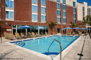 hyatt place east end pool