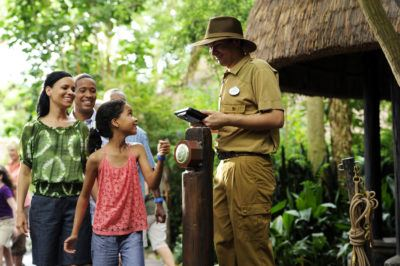 Walt Disney World visitors can use FastPass+ for attractions such as Kilimanjaro Safaris at Animal Kingdom.