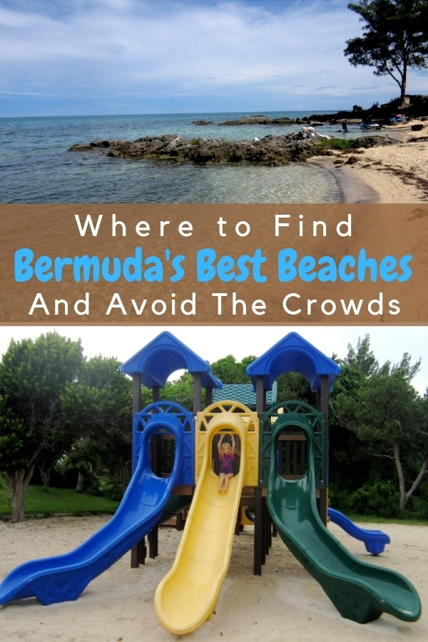 Whether you arrive in bermuda on a cruise or stay in a hotel, one of the top things to do is explore the island's beautiful beaches. Here are the best and least crowded coves to check out with kids. #bermuda #thingstodo #beaches #kids