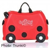 Travel gear for toddlers and preschoolers: trunki