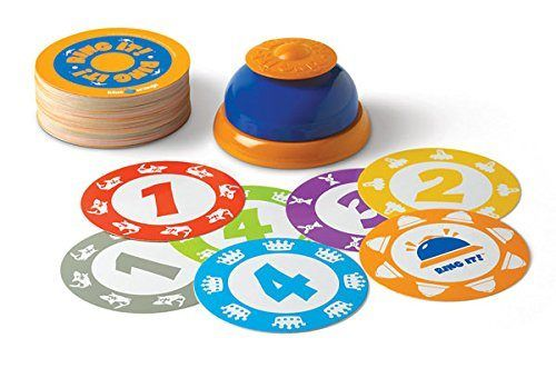 Ring it! Is an easy-to-learn game that travels in its own compact can.