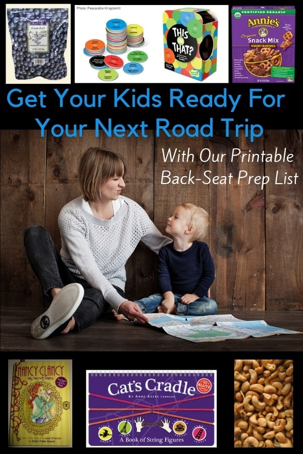 The best snacks, games, apps, and other items you might not think of to keep kids occupied for long road trips. #roadtrip #vacation #family #kids #snacks #games #ideas