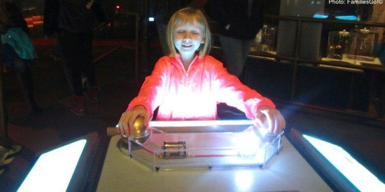 Creating light at the franklin institute