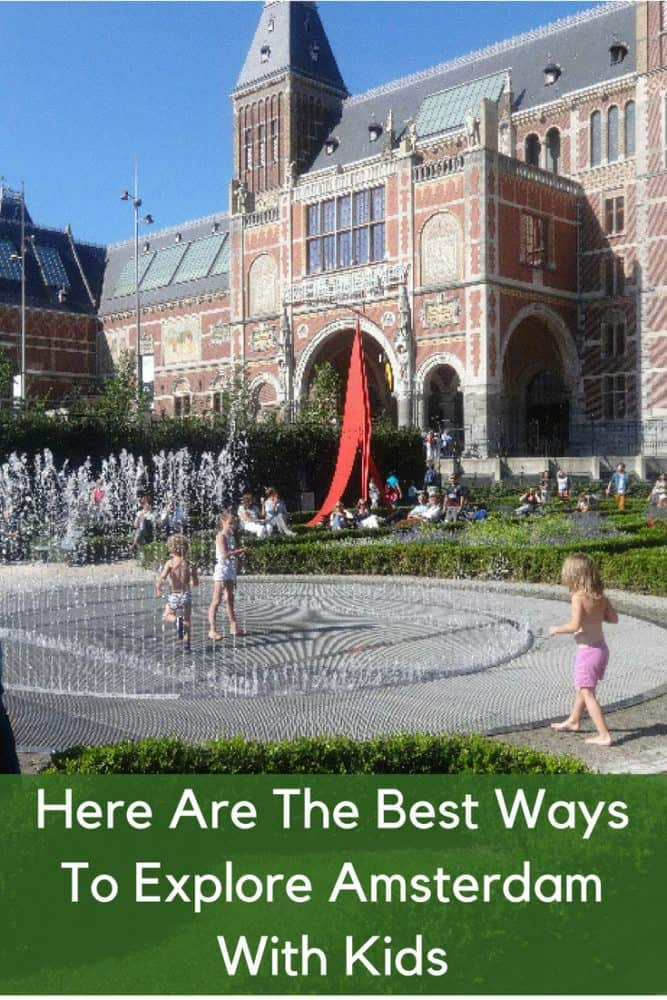 Amsterdam has more fun things to do with kids than many visitors expect. Here are our best tips for a family vacation in this netherlands city. #amsterdam #kids #vacation #family #tips