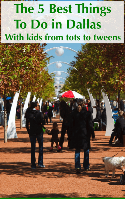 The top 5 things to do on a dallas vacation with kids. Plus a few extras in case you have more time. Klyde warren park, the reunion tower and more. #dallas #texas #vacation #weekend #getaway #ideas #kids #topattractions