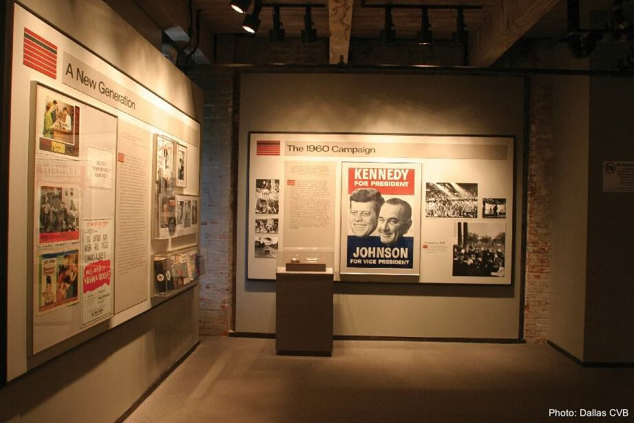 The dealey plaza museum looks at the assassination of jfk