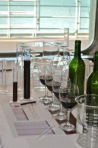 wine blending on the MSC Divina