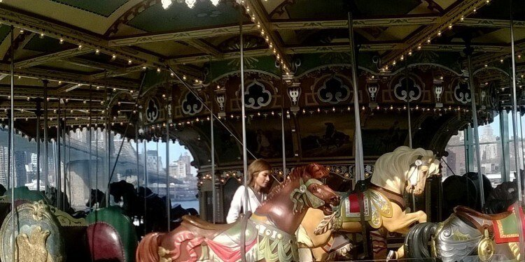 Janes Carousel in Brooklyn's DUMBO