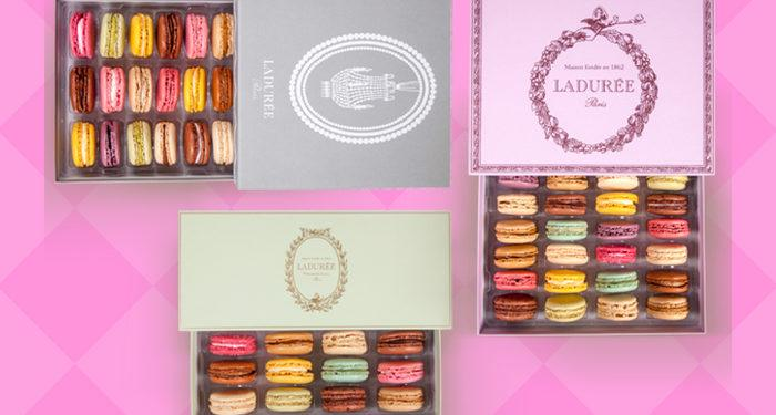 macarons from Laduree in Paris
