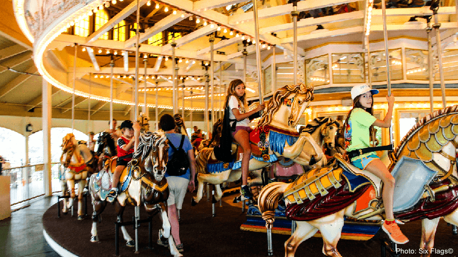 The Riverview carousel in GA