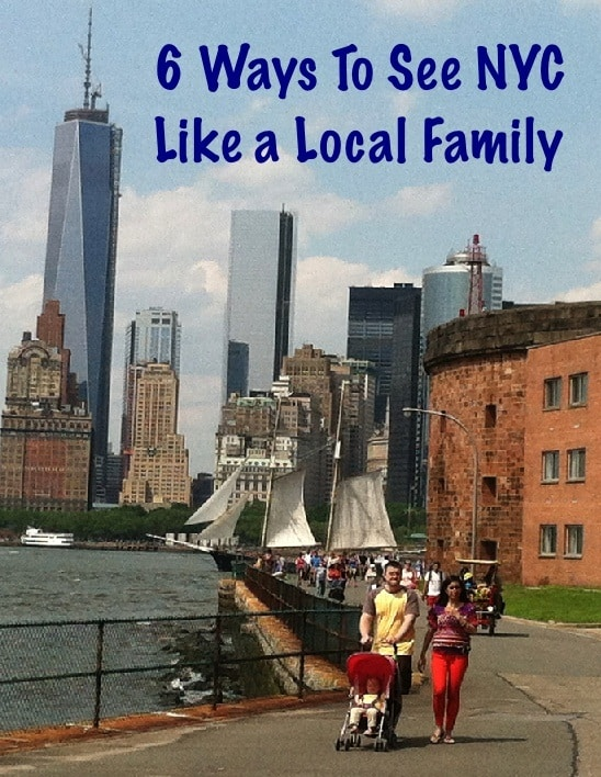 Tips and locations to help you see nyc like a local family