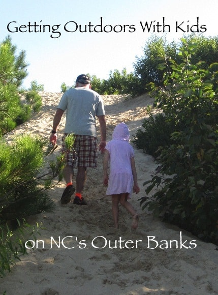 Get off the beach for outdoor adventures with your kids on the outer banks. #outerbanks #kids #activities