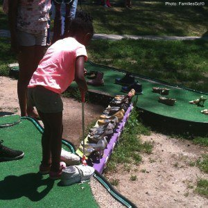 Governors Island mini golf in NYC