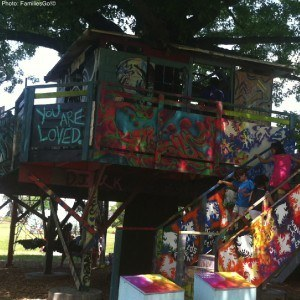 Governors island tree house in nyc