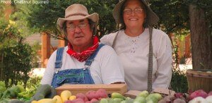 Chestnut square offers living history plus a farmers' market in mckinney, texas