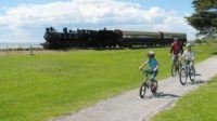 Rail trails make for easy vacation bike rides with kids