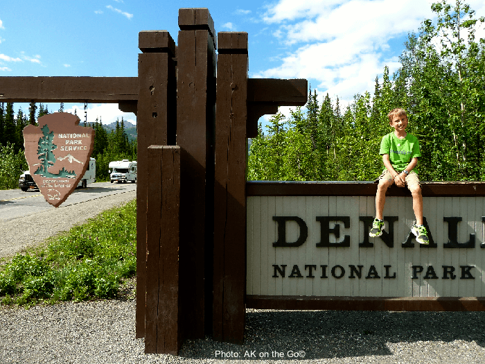 The entrance to denali national park is scenic