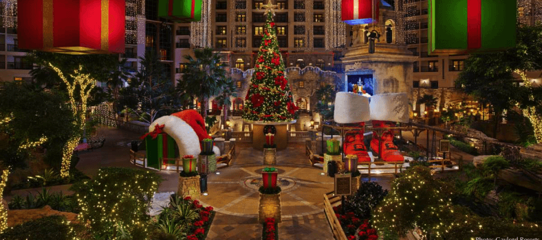 The Gaylord Texan does the holiday season in a big way.