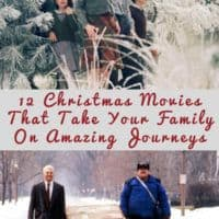 These 12 Christmas movies will take your family on fantastic journeys this Christmas season. Don't worry about plane tickest, just grab your remote. #kids #christmas #movies #staycation #travel #inspiration #family