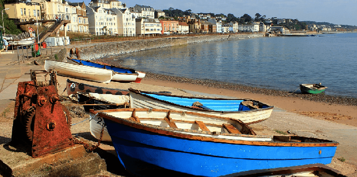 Devon is a sunny UK destination