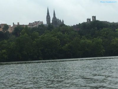 Georgetown from the potomac river