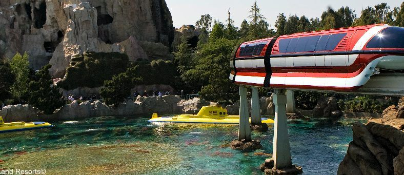 Finding Nemo Submarine ride at Disneyland