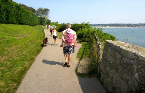 Newport's cliff walk
