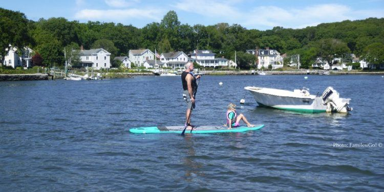 SUPing in Mystic