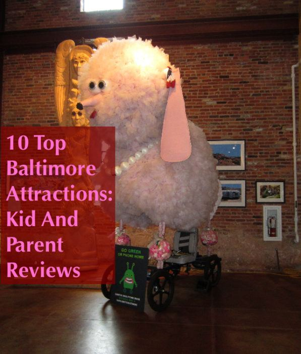 Baltimore is an ideal city for family weekend geraways. Great museums, a busy waterfront and more to please kids and adults