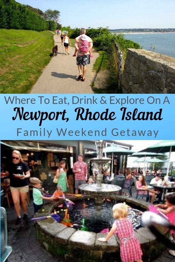 Newport rhode island has more than enough fun actvities to fill a summer weekend getaway with kids. Here is an itinerary for your own family getaway. #newport #rhodeisland #summer #weekend #destination #ideas #kids