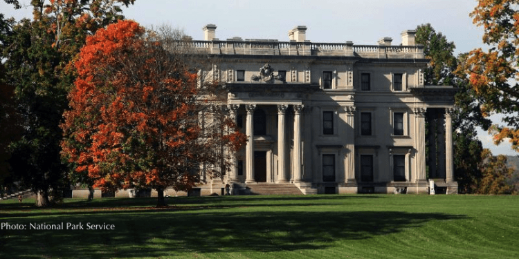 the vanderbilt mansion in dutchess county