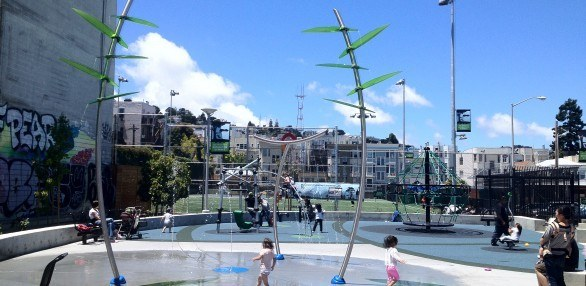 Mission playground in san francisco