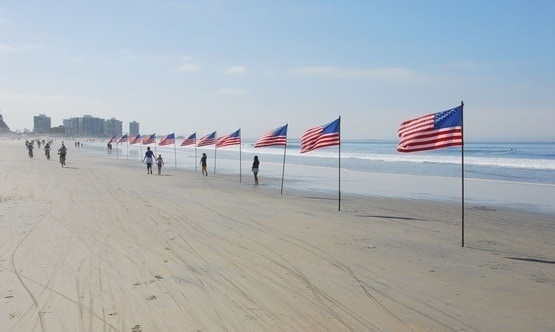 Coronado beach is a real staycation getaway from san diego