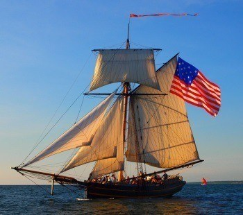 A tall ship makes for a nice staycation excursion in south haven, mi