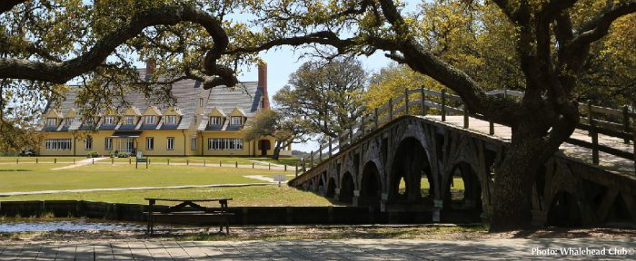 The whalehead club in the outer banks