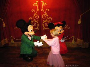 Characters dress up for disney's holidays parties
