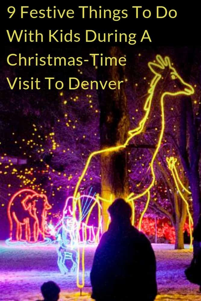 Take the kids to denver for a weekend in december to enjoy a full roster of special christmas activities from markets to parades and more. #denver #colorado #weekend #getaway #ideas #christmas #kids #newyearseve