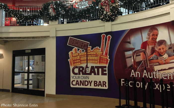Create your own chocolate bar at hershey