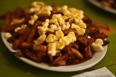 You must eat poutine in montereal