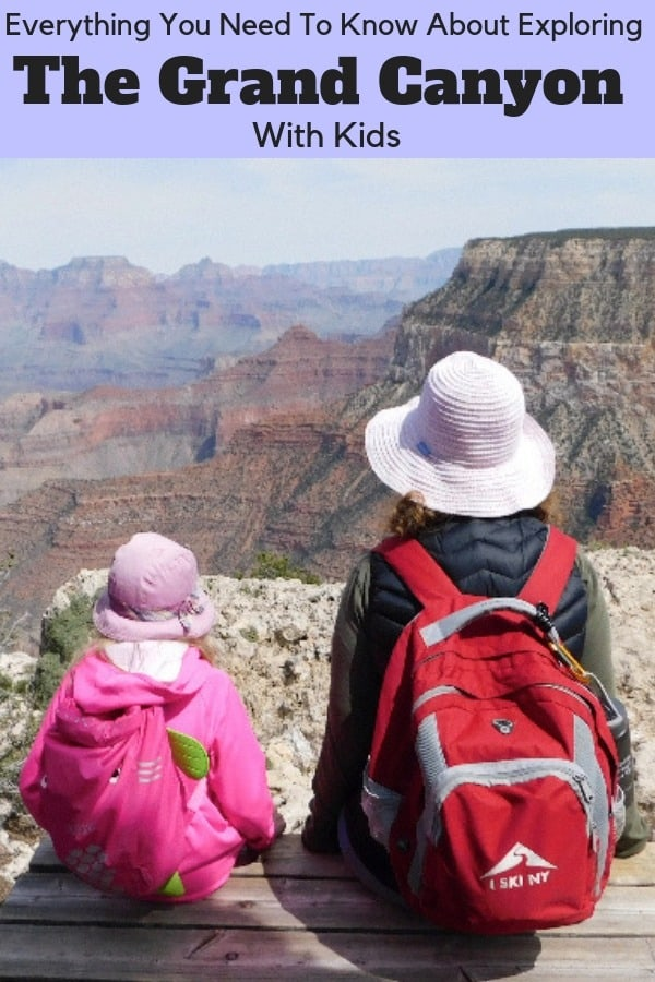 Our complete guide to visiting the grand canyon with kids: activites, hotels, restaurants, tips on parking, how to avoid the crowds and more. #grandcanyon #nps #arizona #kids #family #guide #tips #wheretostay #restaurants